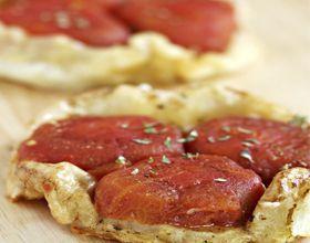 Tartelettes tatin à la tomate