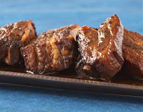 Spare ribs (ou travers de porc au miel)