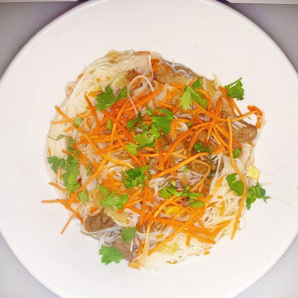 Vermicelles de riz façon bo bun