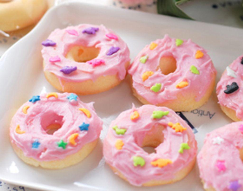 A moi les donuts maison avec le coffret The Simpsons !
