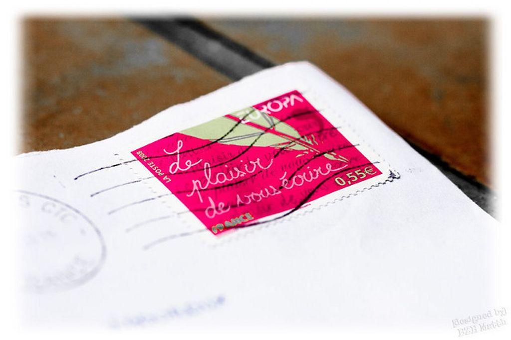 Envoyez-moi des lettres manuscrites