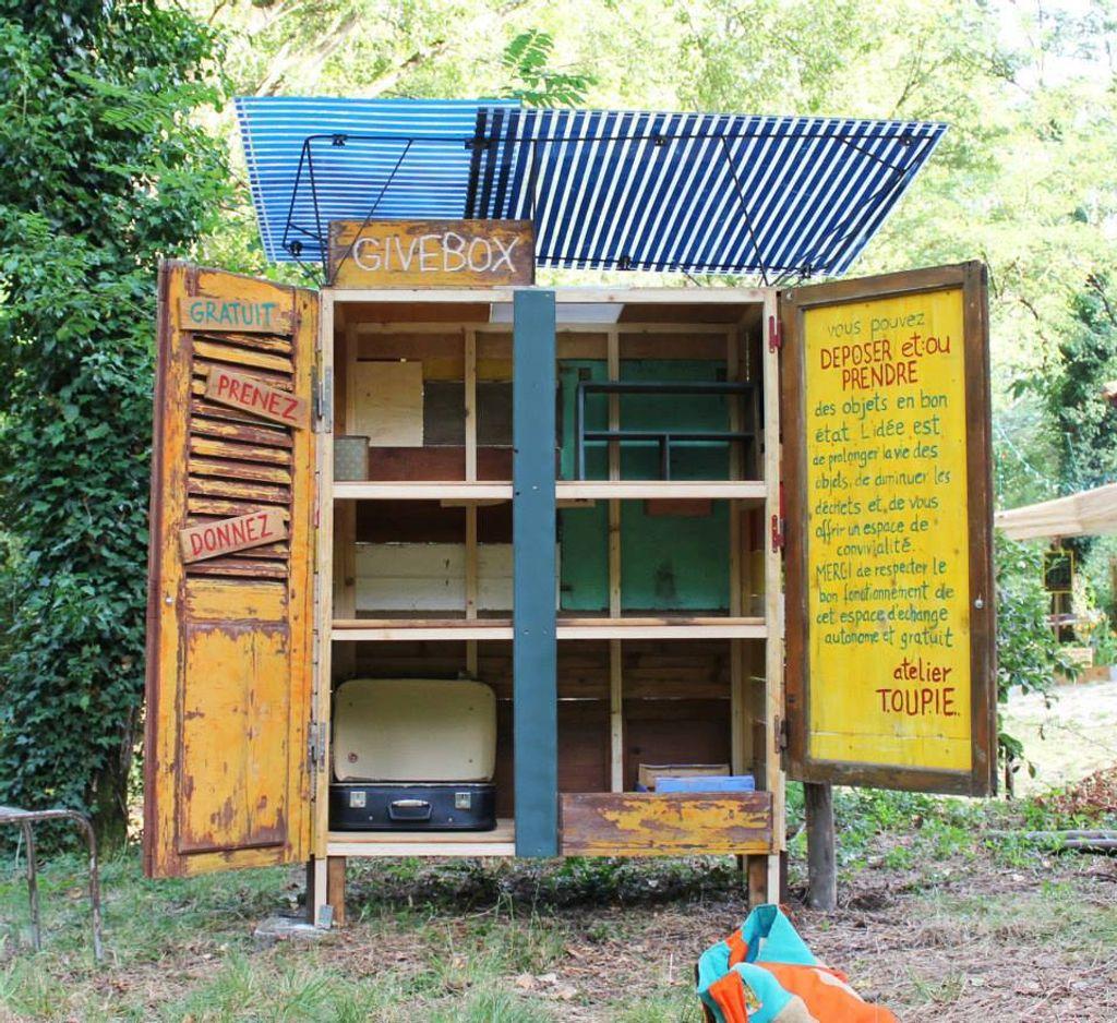 Les Givebox, des boites à bonheur