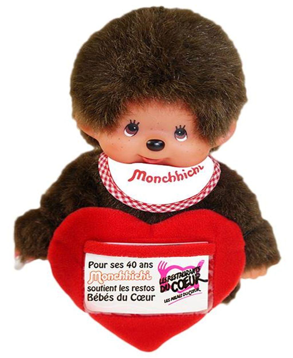 Monchhichi s'associe au Restos du Coeur