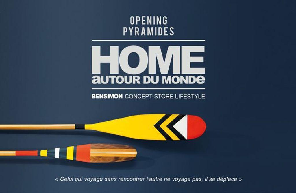 Bensimon : un nouveau concept store à Pyramides