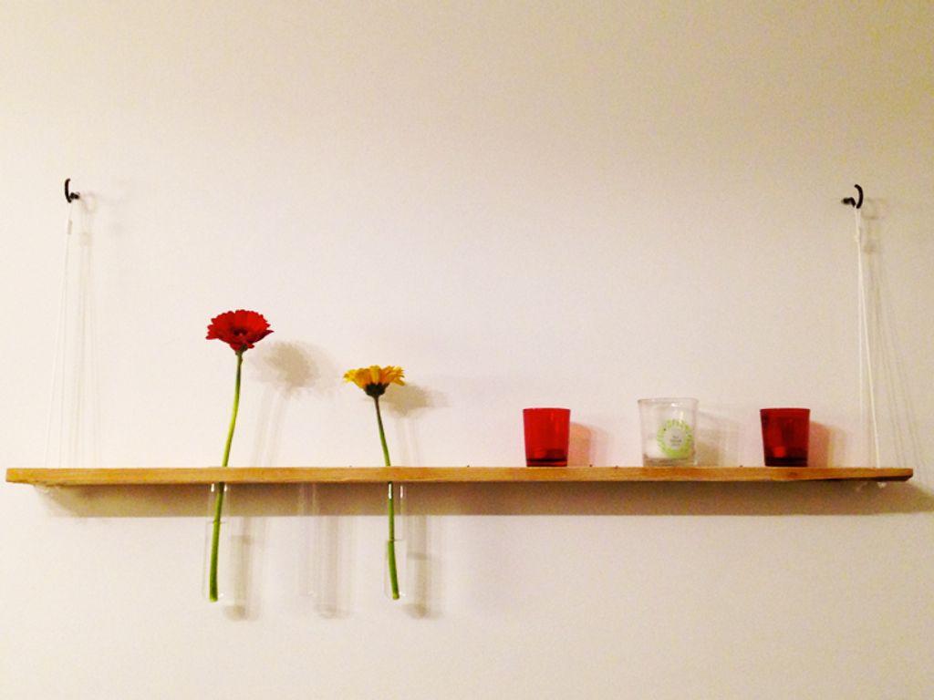 DIY : mon étagère à soliflores