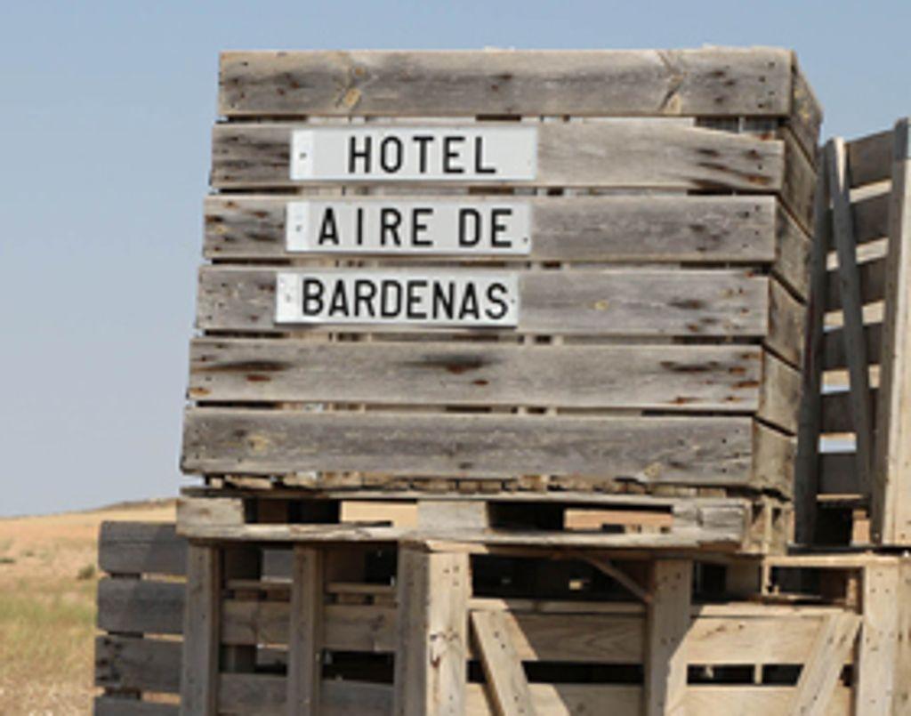 Coup de cœur déco pour l'hôtel Aire de Bardenas