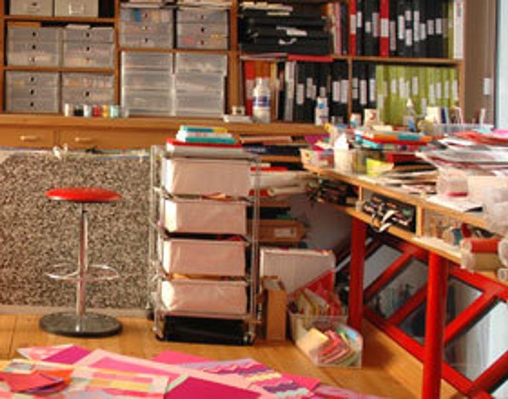 Dans l'atelier de Zofia Rostad