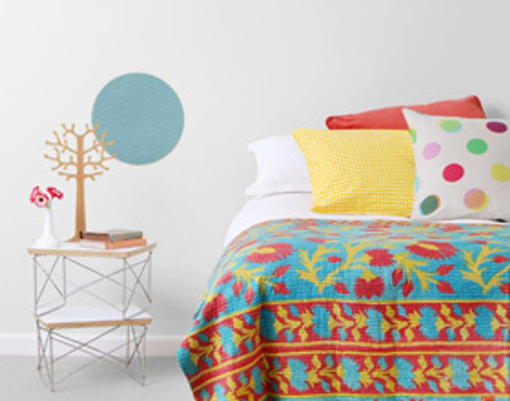 Les couvre-lits Kantha, du patchwork made in India !