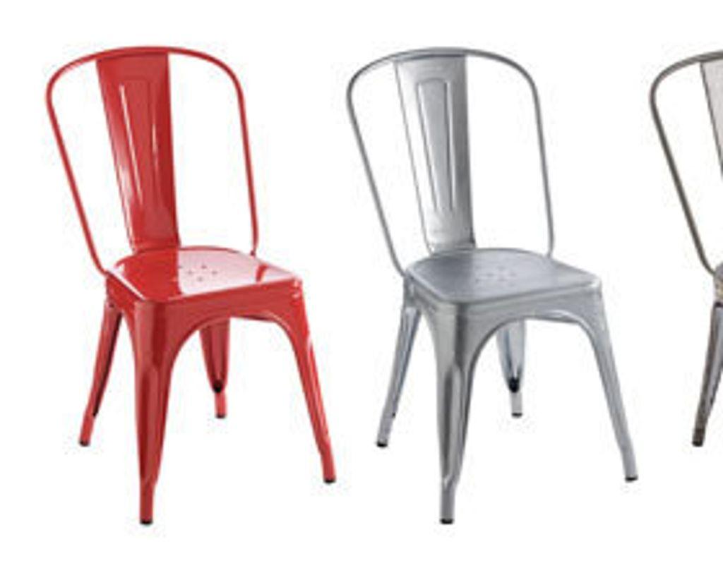 Indémodable chaise Tolix!