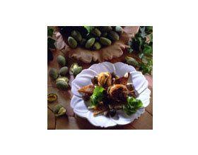 Cailles aux amandes et raisins