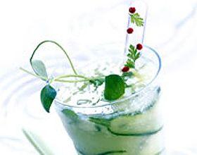 Cocktail de courgettes