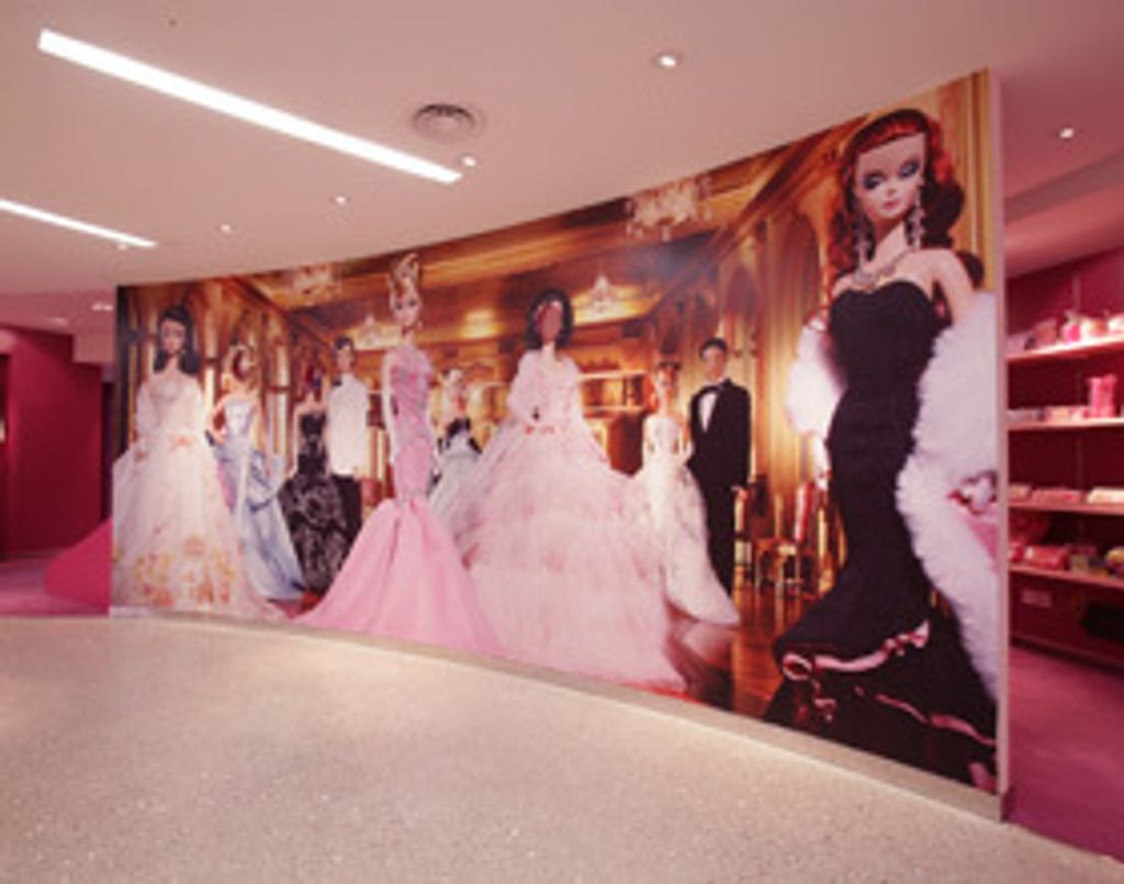 Un concept store Barbie à Shanghai