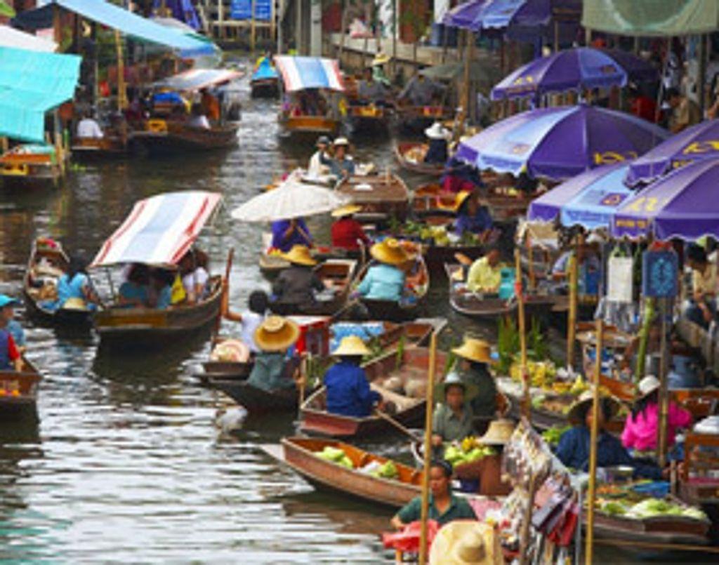 Aller simple pour Bangkok
