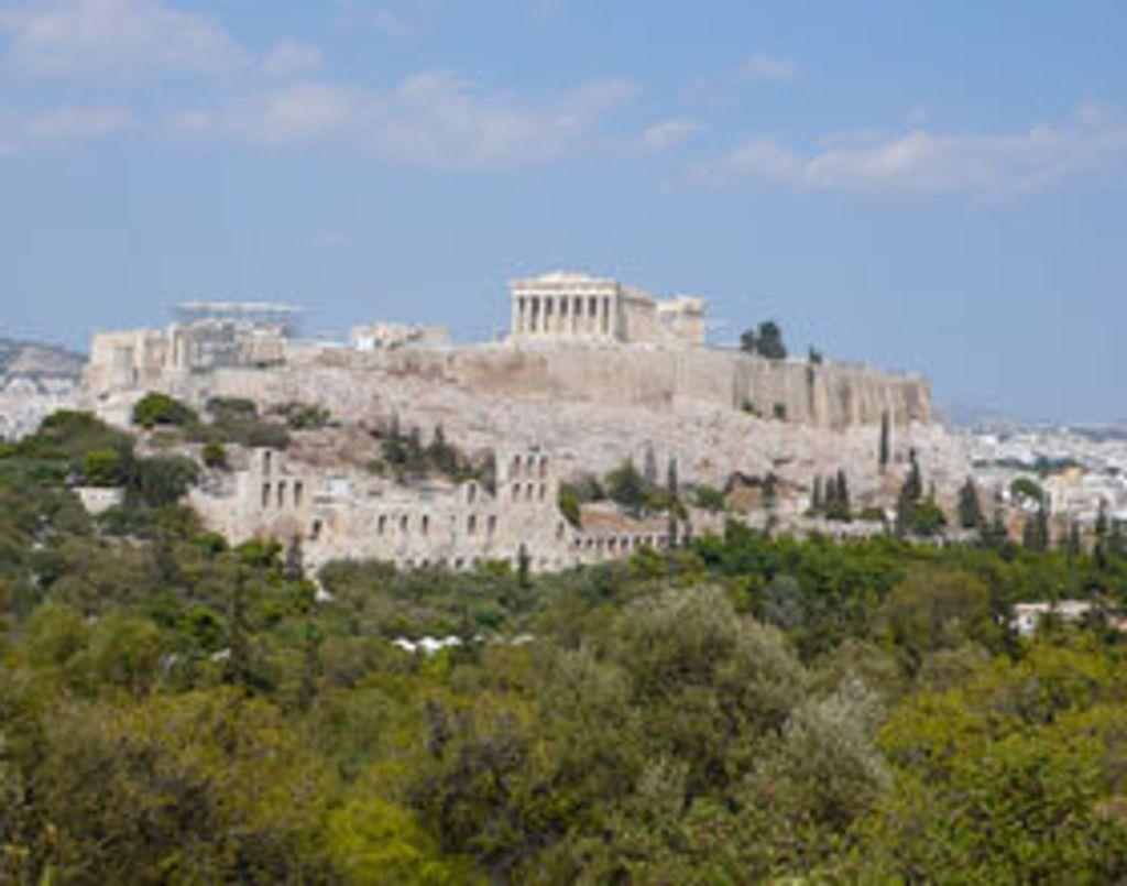 Athènes sans l'Acropole