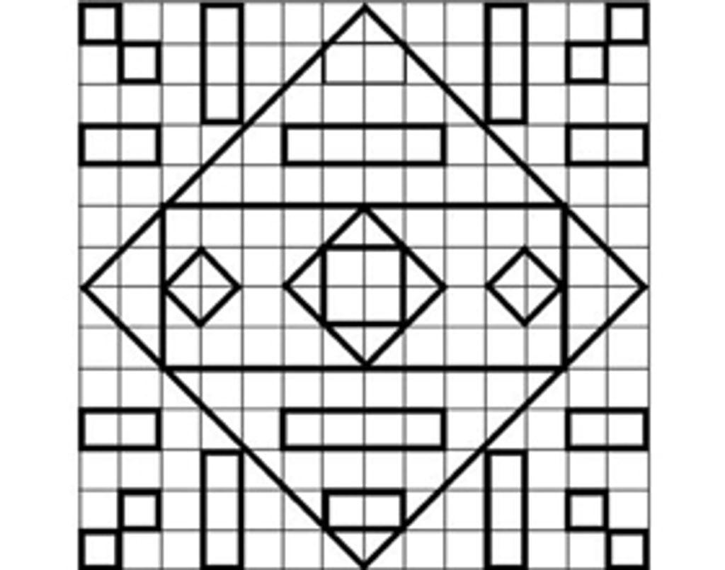 Quadrillages : les carrés et les rectangles