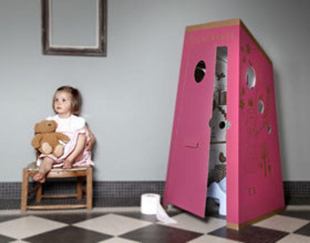 Ma Cacabane, une cabane en carton pour aider les petits à être propres