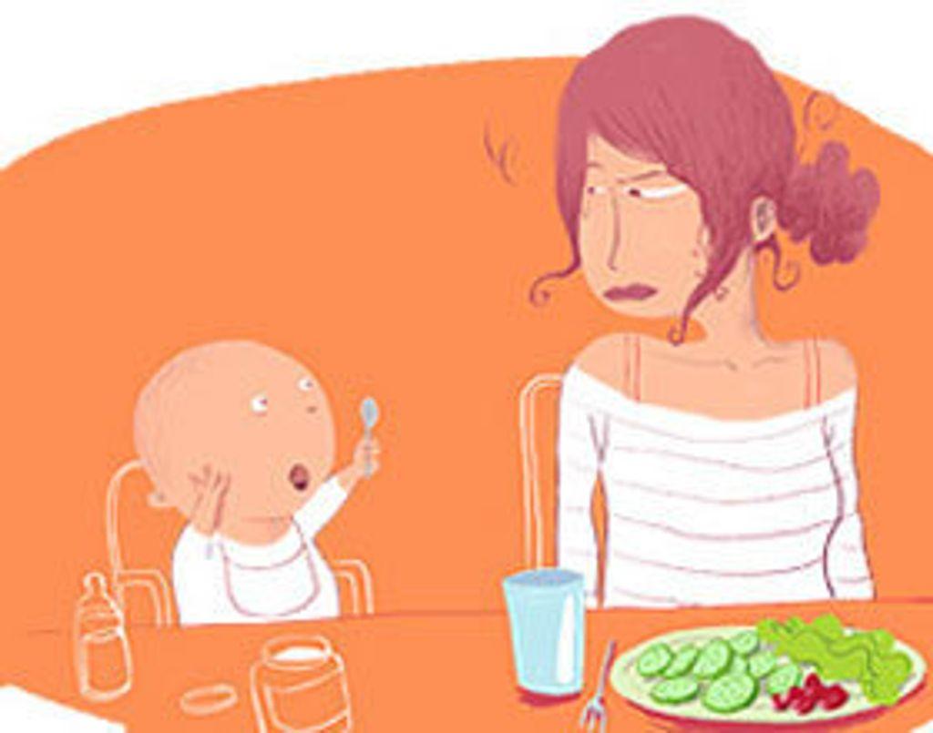 Bébé reste... pas les kilos