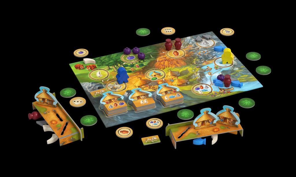 A partir de 5 ans : L'âge de Pierre Junior - Top des jeux de société pour les 3-8 ans - ElleAdore
