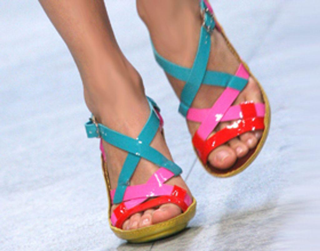Mes chaussures passent à l'heure d'été !