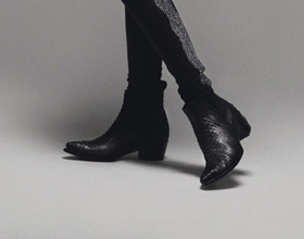 Vite, des chaussures ! Les bottes python Zadig & Voltaire
