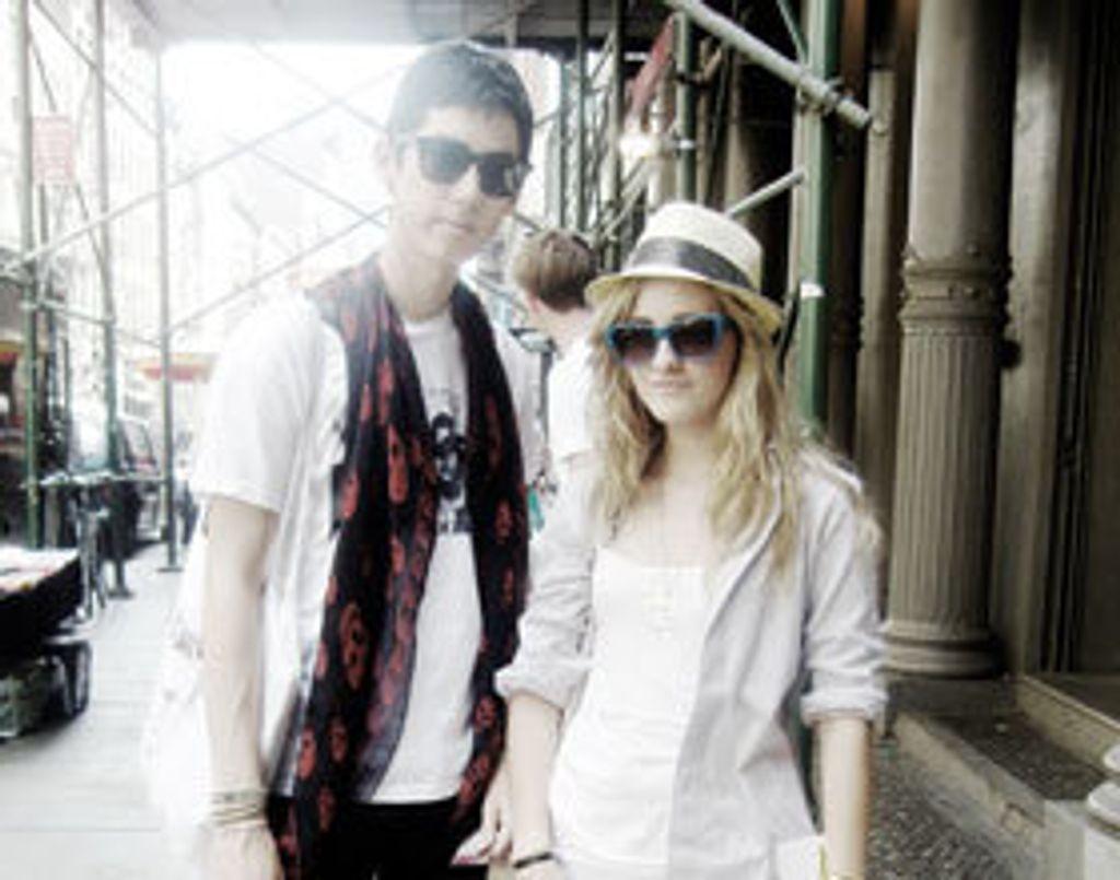 Les New-Yorkaises et leurs lunettes de soleil