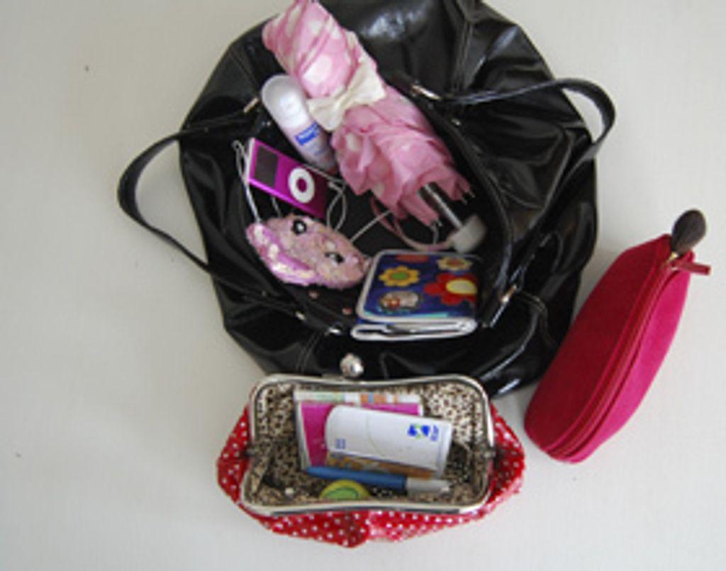Ce qu'il y a dans le sac des filles