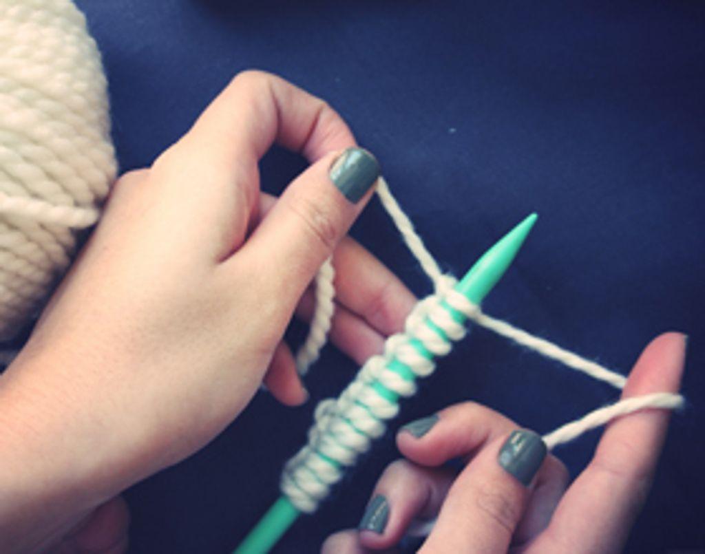 DIY : Comment j'ai tricoté mon écharpe