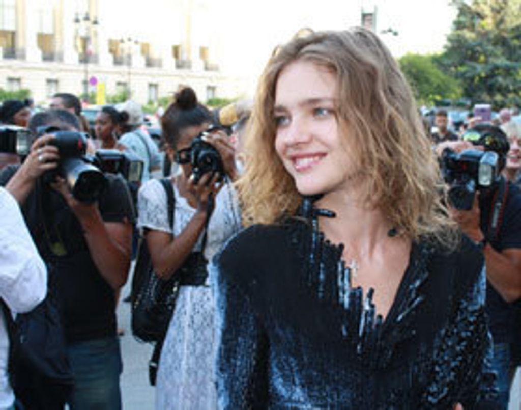 Ma rencontre avec Natalia Vodianova au défilé Chanel