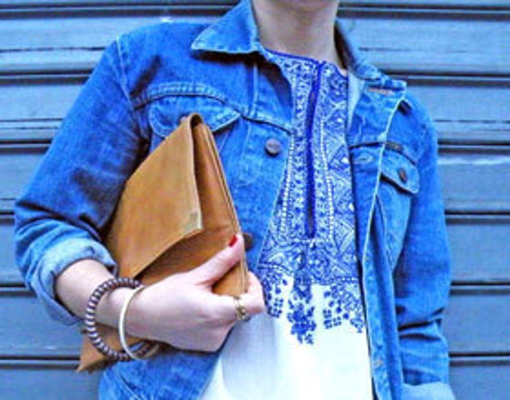LA question mode : comment je porte mon blouson en jean ?