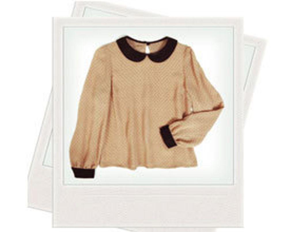 Coup de coeur mode : une blouse à col claudine à moins de 30 euros !