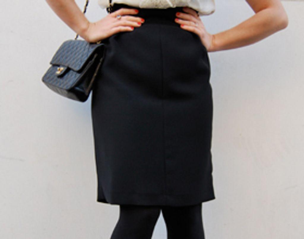 LA question mode : comment je porte ma jupe crayon ?