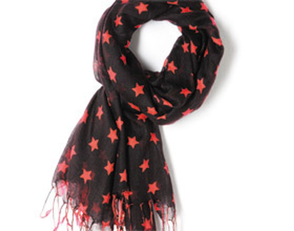 Coup de cœur mode : une écharpe imprimé étoile à moins de 25 euros !