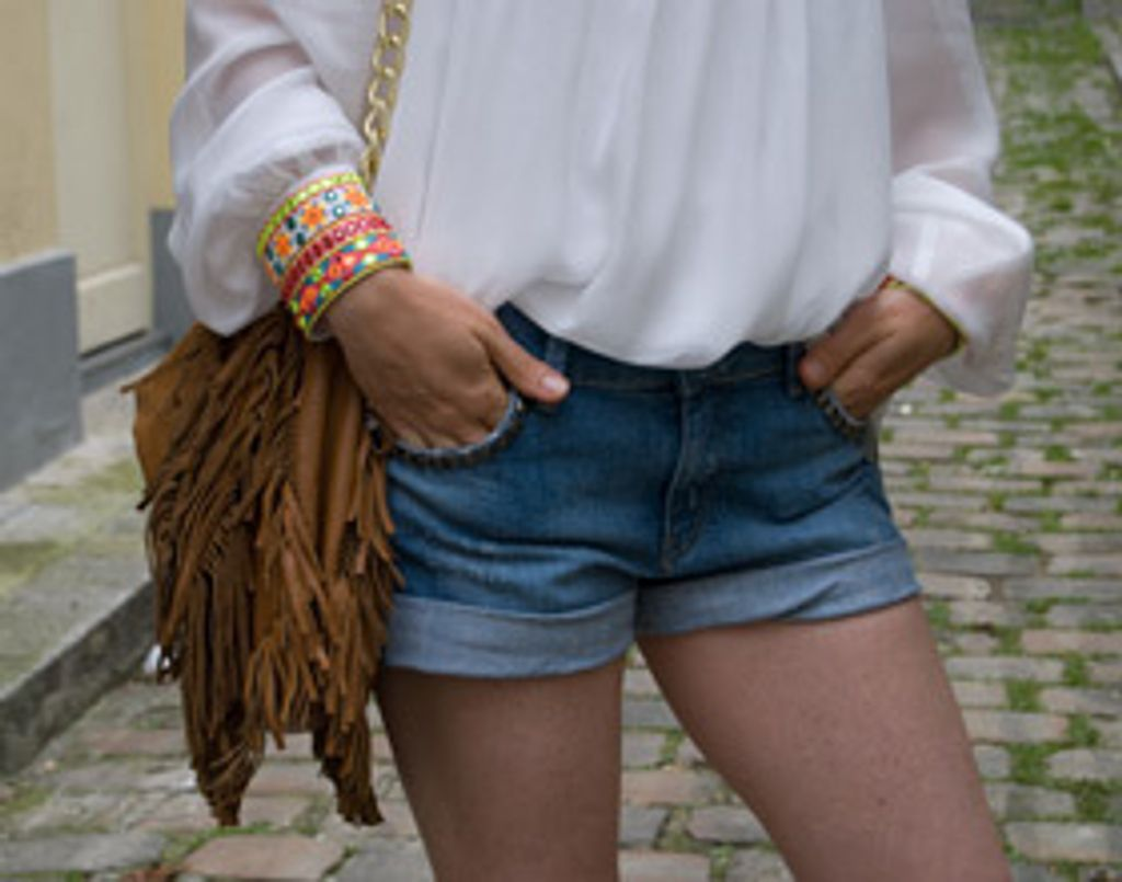 1 short en jean, 3 styles