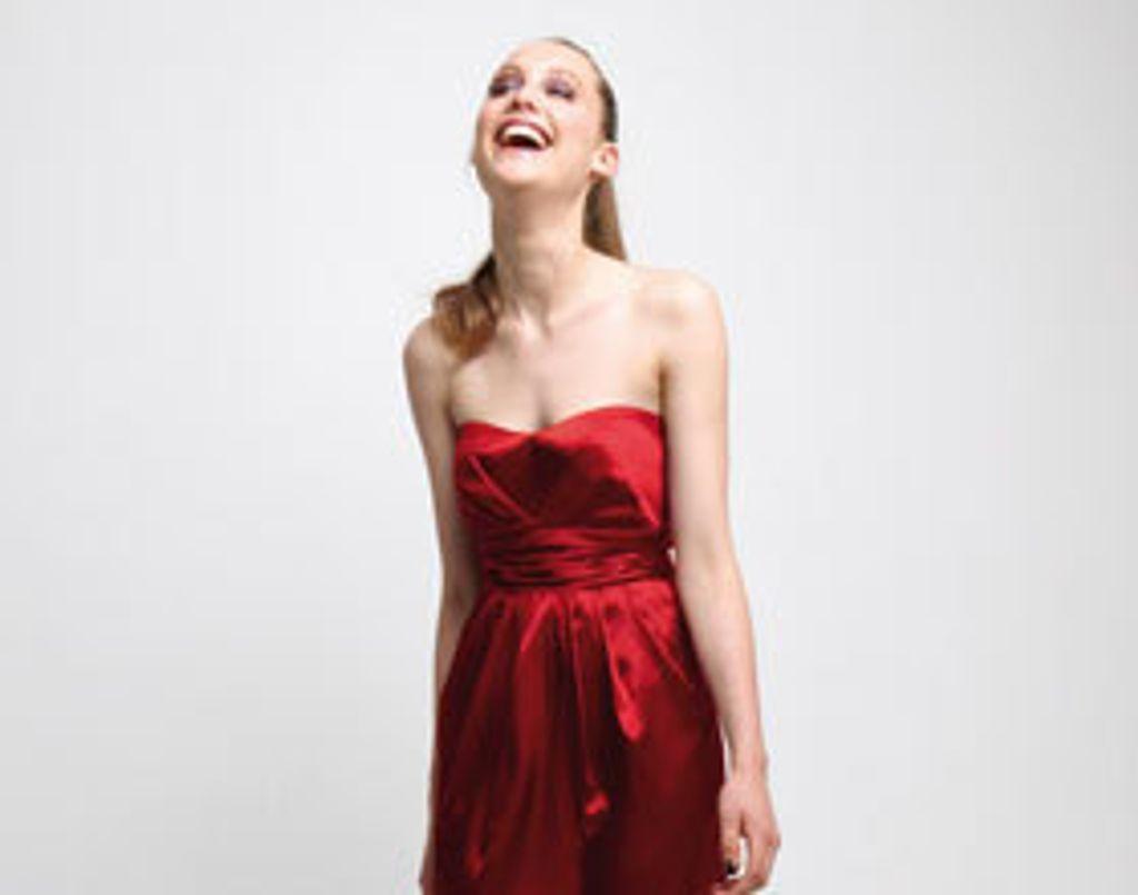 Shopping mode : le rouge fait mouche !