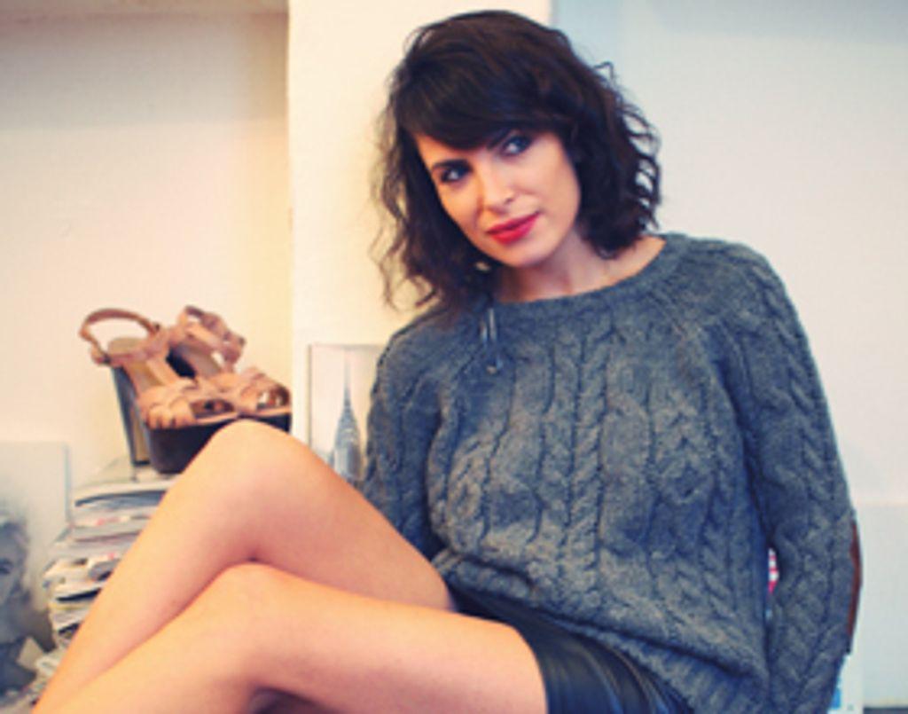 Dans le dressing vintage et intime d'Aurélia