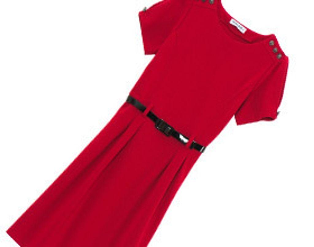 Coup de cœur mode: une jolie petite robe rouge à moins de 10 euros!
