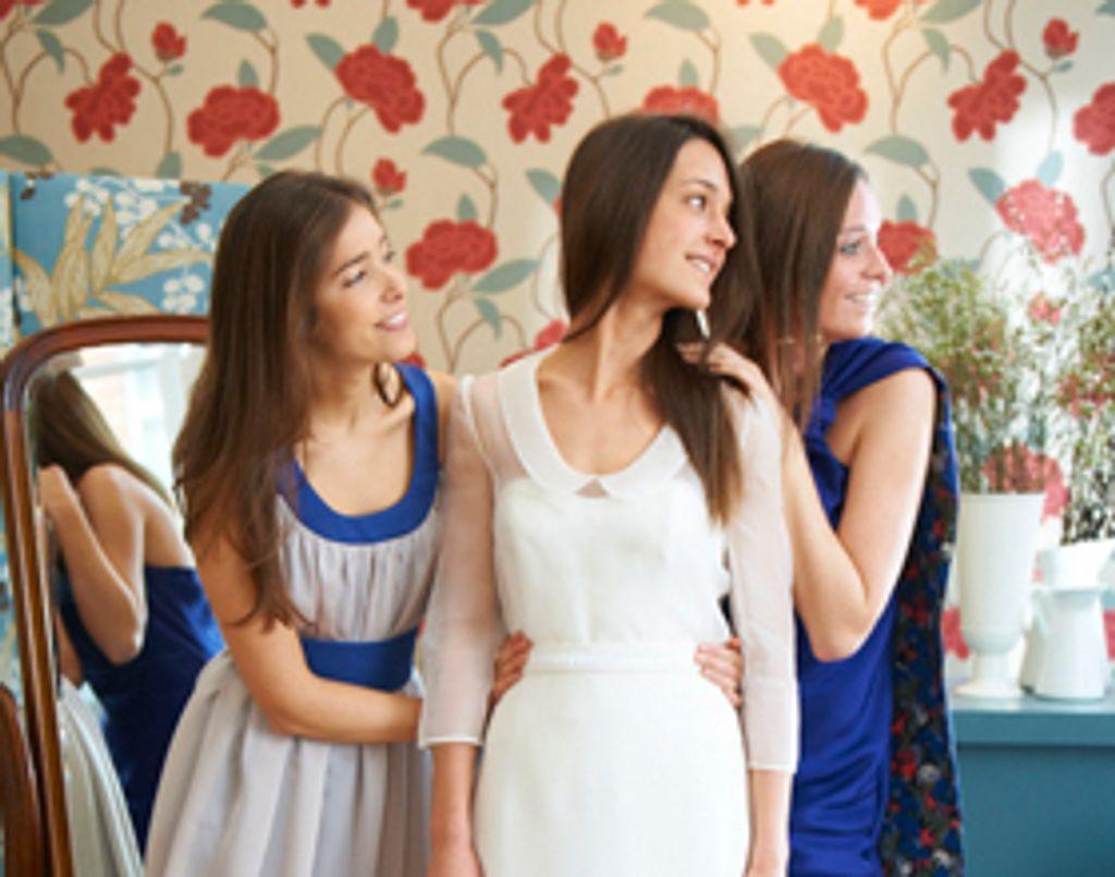 Les Soeurs Waziers, des robes de mariée poétiques