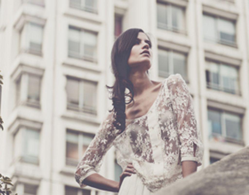 Laure de Sagazan, des robes de mariée vintage revisitées