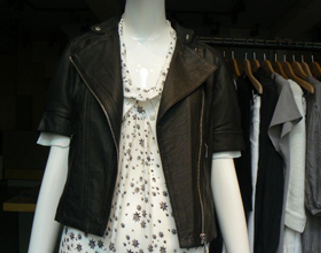 Le bon shopping : 5 vitrines parisiennes, 1 look