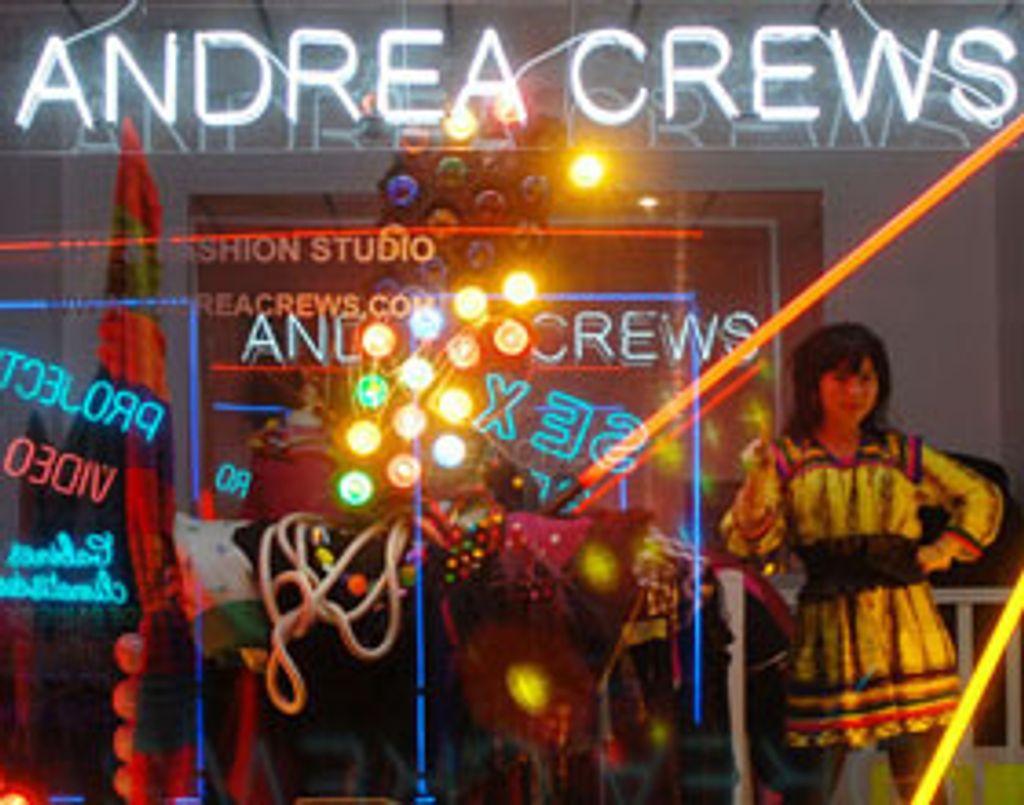 Andrea Crews : entre art et mode