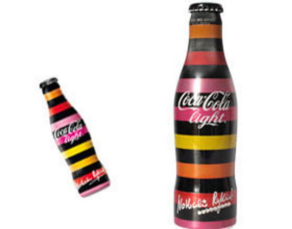 Coca Cola light s'habille en Rykiel pour ses 20 ans !
