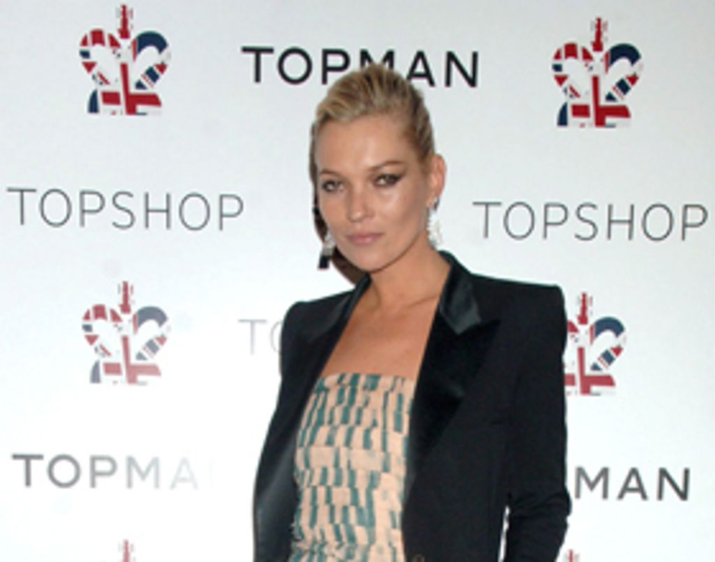 Kate Moss récompensée aux British Fashion Awards 2009