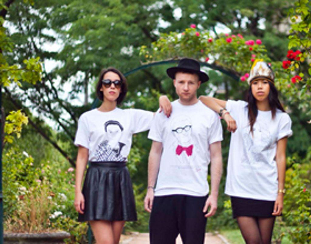 Les grands noms de la mode à portée de t-shirt !