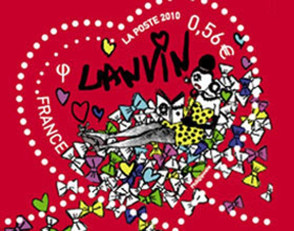 Lanvin offre son coeur à La Poste