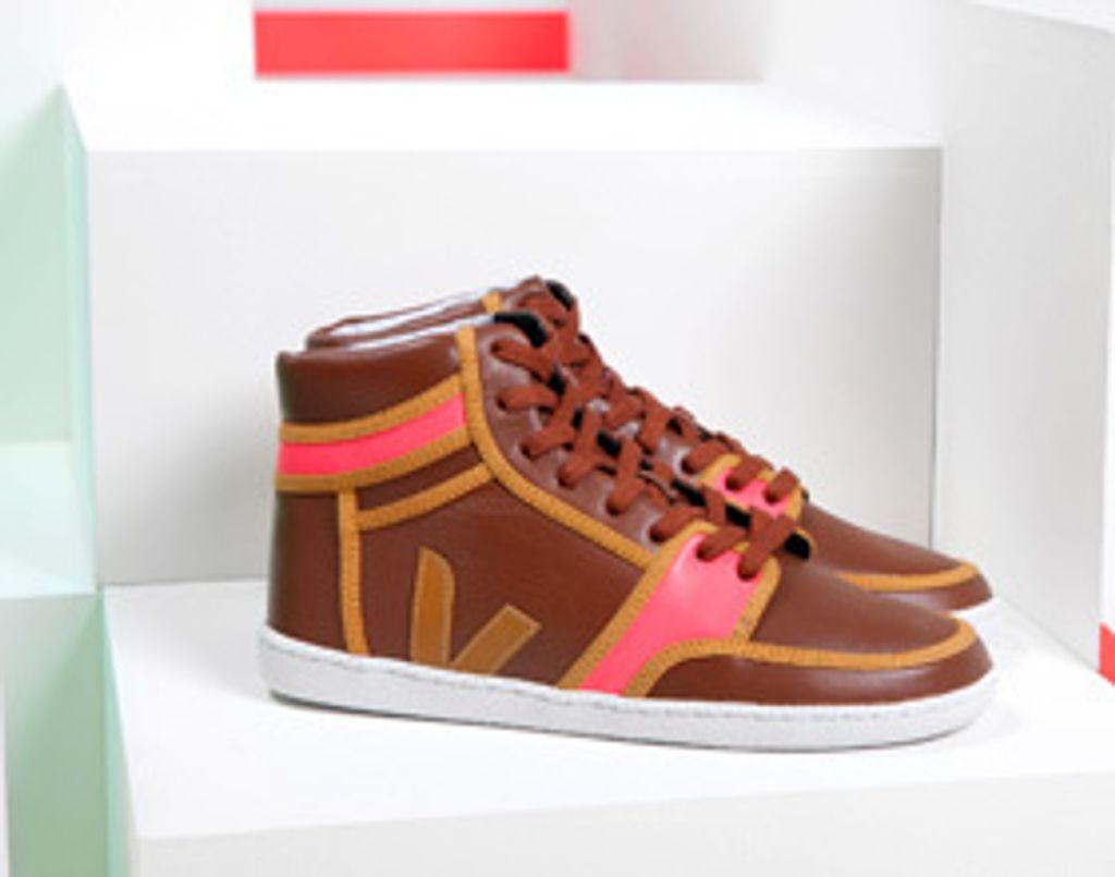 Veja x Domino Lattès, des sneakers qui montent !