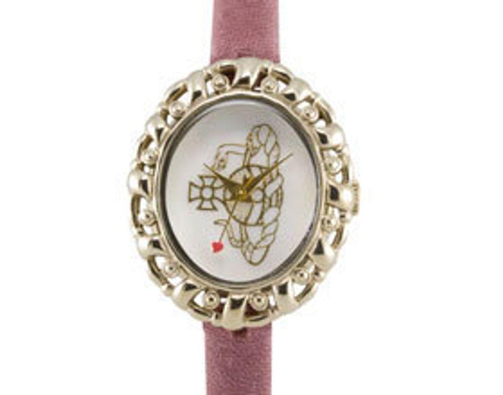 Une montre signée Vivienne Westwood à mon poignet !
