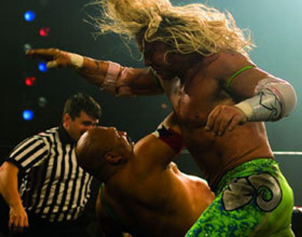 """""""The wrestler"""""""