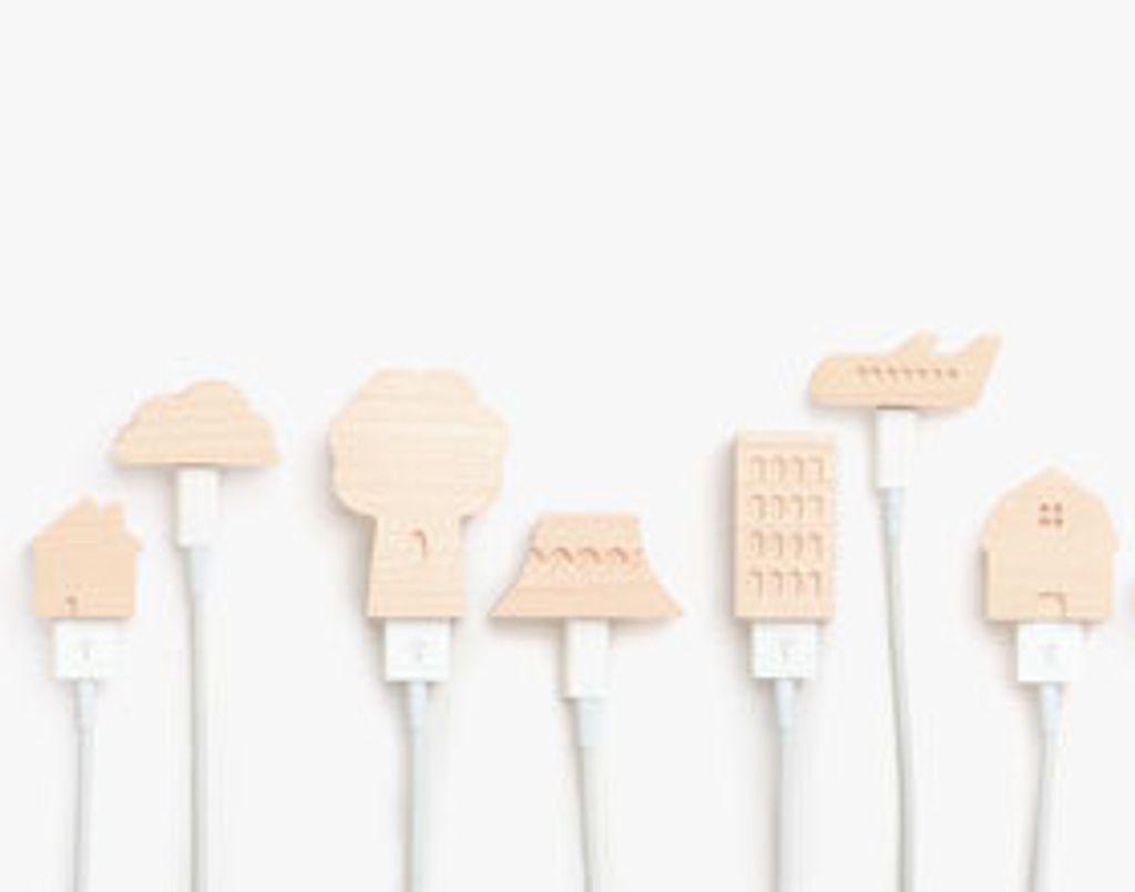 De jolis bouchons pour protéger vos cables d'iPhone
