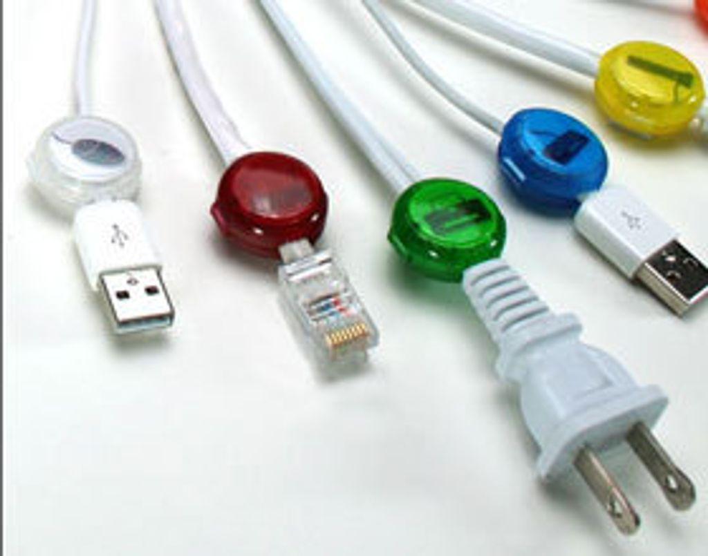 A câble bien ordonné, bureau bien rangé