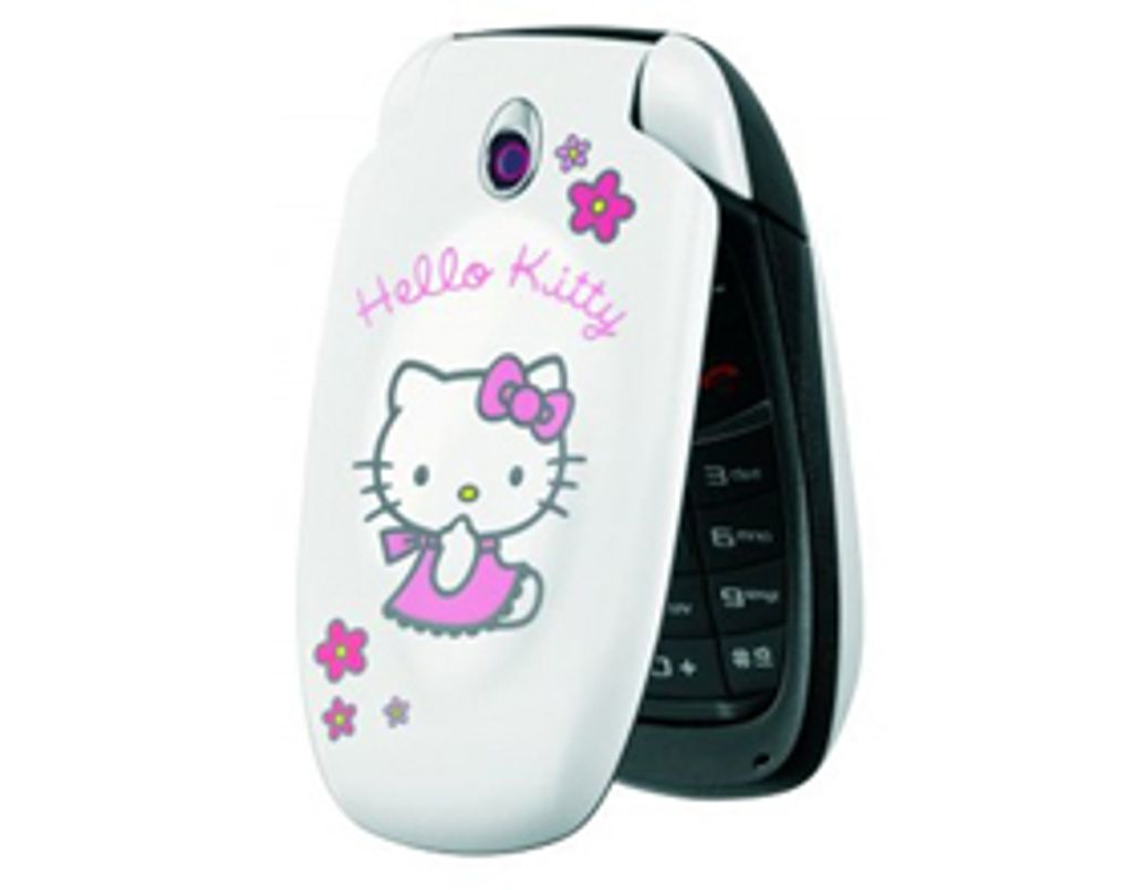Allo, ici Hello Kitty !